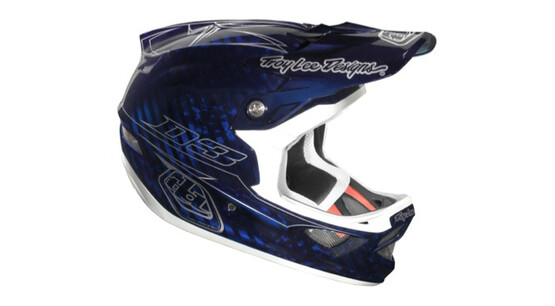Troy Lee Designs D3 Pinstripe CF blue